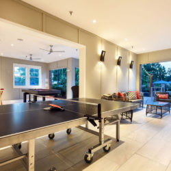 Tapestry Bocage, ping pong table