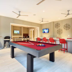 Tapestry Bocage, pool table