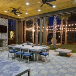 Tapestry Lake Park, Tampa patio