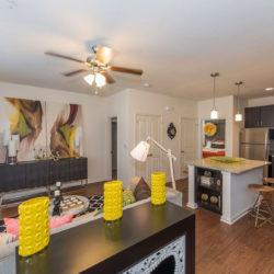 Tattersall Chesapeake, VA kitchen living room