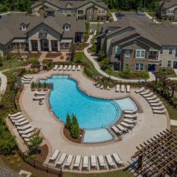 Tattersall Chesapeake aerial view