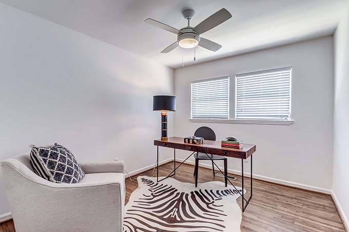 V Apartments sitting room