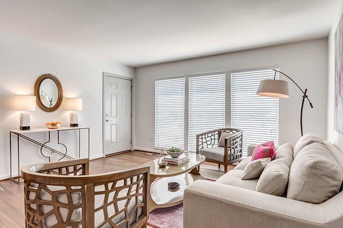 V Apartments living room