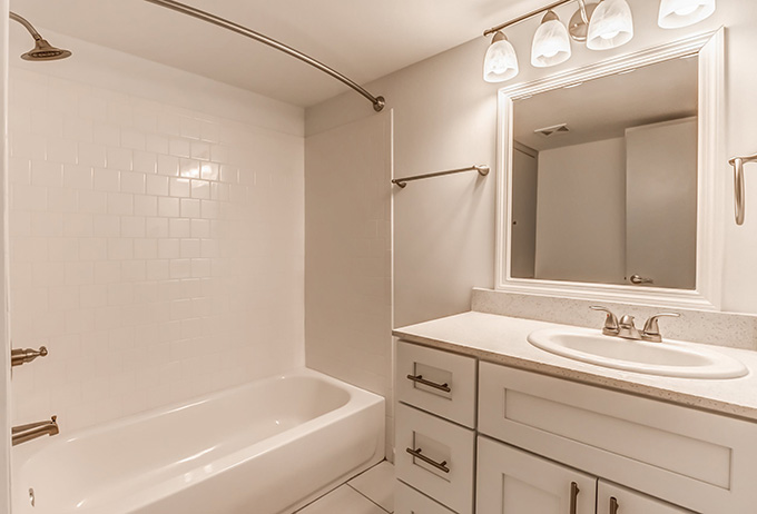 V Apartments bath