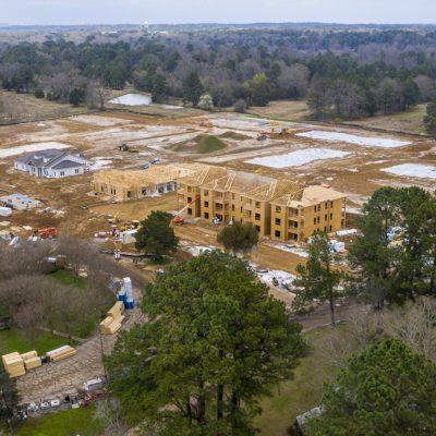Jackson site aerial