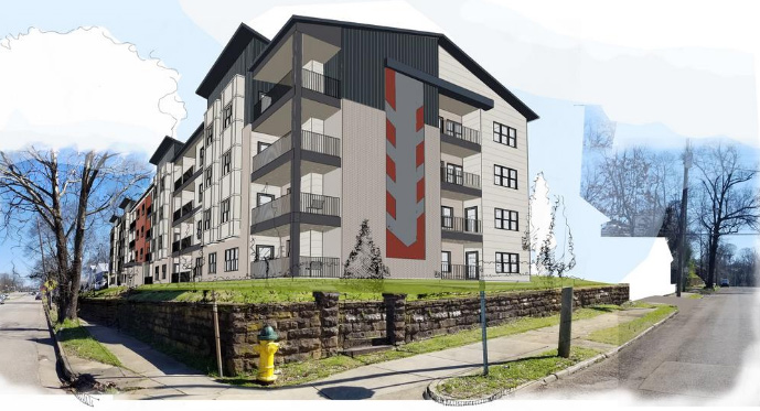 Avondale project rendering